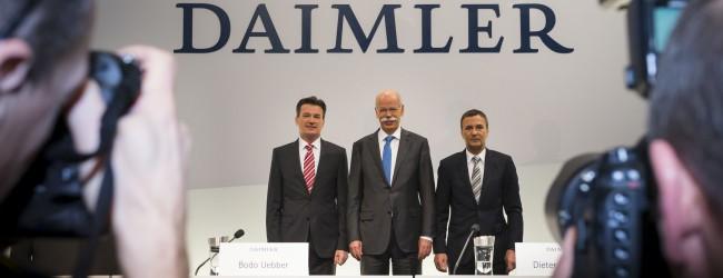 Daimler Hauptversammlung am 9. April 2014 (Dividende: 2,25 Euro je Aktie)
