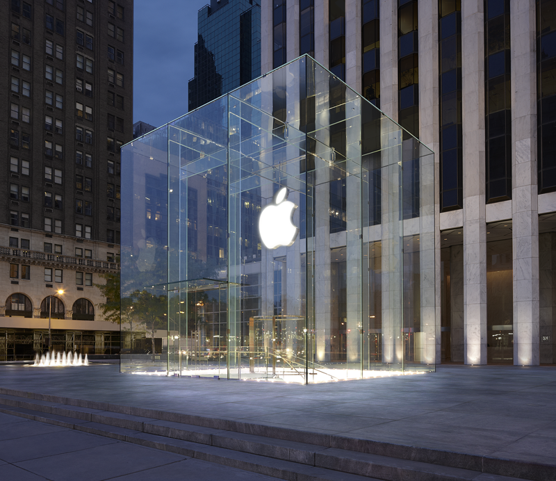 Apple Store in der 5th Avenue in New York City