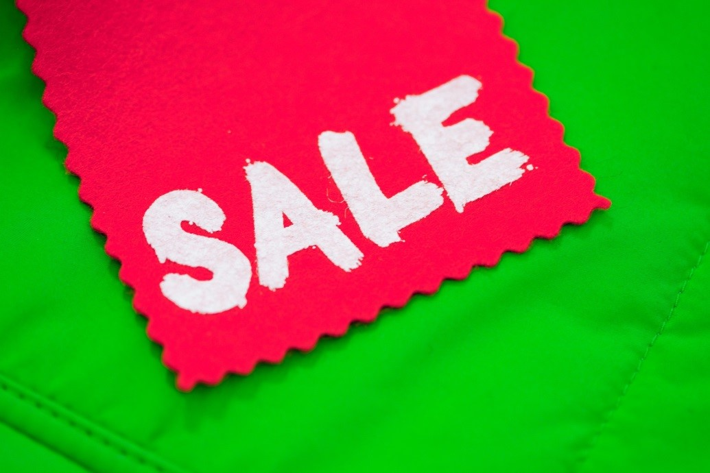 Sale, Angebot