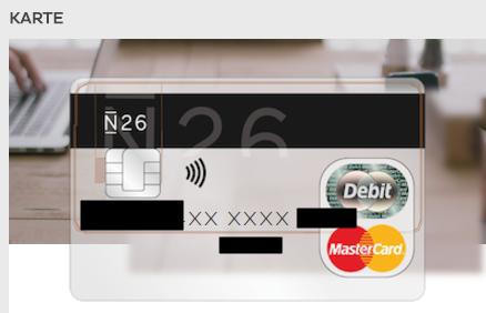 Mastercard N26