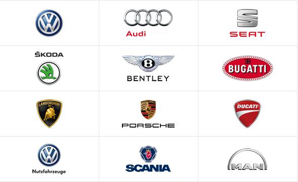 VW-Marken 2014